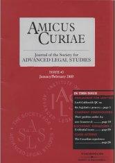 Amicus Curiae issue 45 cover