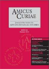 Amicus Curiae Issue 98 cover