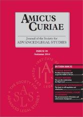 Amicus Curiae Issue 99 cover