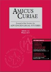 Amicus Curiae Issue 112 cover