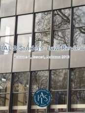 IALS Student Law Review Volume 1 Issue 1 Autumn 2013 cover