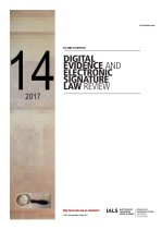 Digital Evidence and Electronic Signature Law Review Volume 14 : 2017